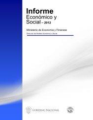 Informe Economico y Social - Diciembre 2012 - Ministerio de ...