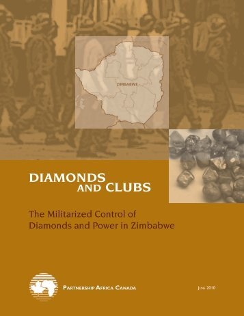 Diamonds and clubs a.indd - Partnership Africa Canada