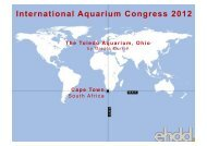 The Toledo Aquarium - International Aquarium Congress