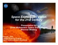 O - National Council of NASA Space Grant Directors