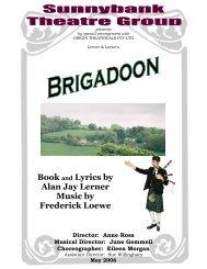 Book and Lyrics by Alan Jay Lerner Music by Frederick Loewe