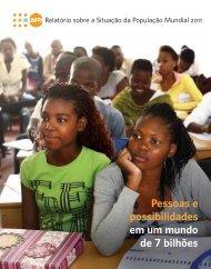 Relatório sobre a Situação da População Mundial 2011