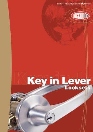 Key in Lever Locksets - Hardware Direct