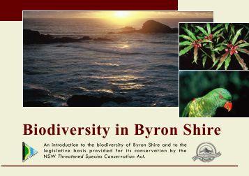 Byron biodiversity conservation strategy 2004