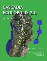 CASCADIA ECOLOPOLIS 2.0 - America 2050