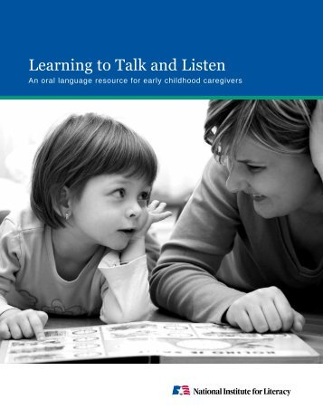 Learning to Talk and Listen - LINCS - U.S. Department of Education