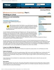 Windows-to-Linux roadmap: Part 1. Thinking in Linux