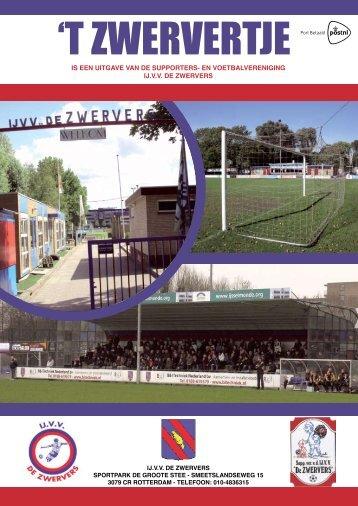 Editie 7 - IJ.VV De Zwervers