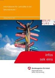 Newsletter von der Agentur für Arbeit -  Landesbildungsserver Baden ...