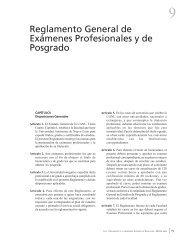 Reglamento General de Exámenes Profesionales y de Posgrado