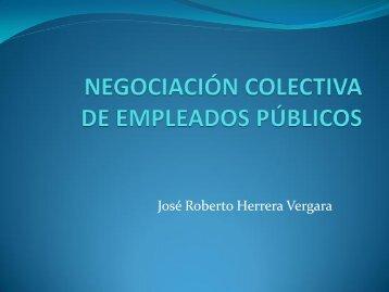 NEGOCIACIÓN COLECTIVA DE EMPLEADOS PÚBLICOS