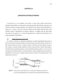 CAPITOLO 8 DISPOSITIVI OPTOELETTRONICI - dieet