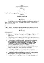ZÁKON - Ministerstvo výstavby a regionálneho rozvoja