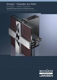Energy² - Fassaden aus Stahl Energy² - Steel Façades - Schüco