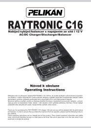 Raytronic C16 manual - RCM Pelikan