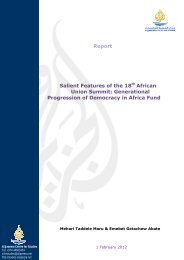 Report Salient Features of the 18th African Union Summit ...