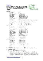 January 2006 - London City Airport Consultative Committee