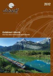 Goldener Ahorn durch Kanada - Scharff-Reisen.de