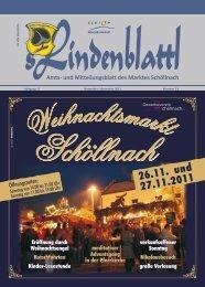 November 2011 - Markt Schöllnach