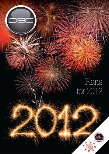 Plans for 2012 - ApexHub