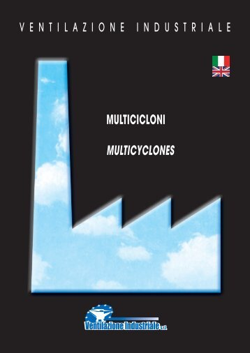 MULTICICLONI MULTICYCLONES - Ventilazione Industriale
