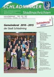 Gemeinderat 2010 - Schladming