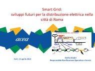 Smart Grid, sviluppi futuri per la distribuzione ... - Il Gruppo Hera