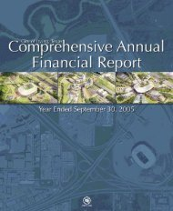 Comprehensive Annual Financial Report–2005 - City of Irving, Texas