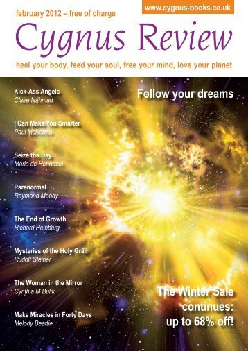 Follow your dreams The Winter Sale continues: up ... - Cygnus Books