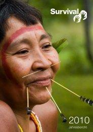 Tätigkeitsbericht 2010 - Survival International