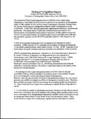 Final EA Combined Documents - aphis - US Department of Agriculture