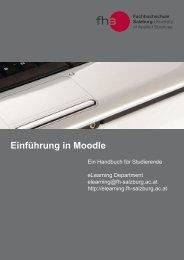 Handbuch Studierende - FH Salzburg - Fachhochschule Salzburg