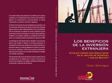 Los beneficios de la inversión extranjera - The Bolivia Information ...