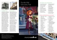 Rundle Mall Discovery Trail Brochure