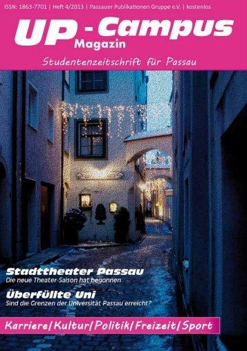 Jetzt online oder live - UP-Campus Magazin