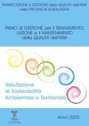 Valutazione di Sostenibilità Ambientale e Territoriale - Aria.provincia ...