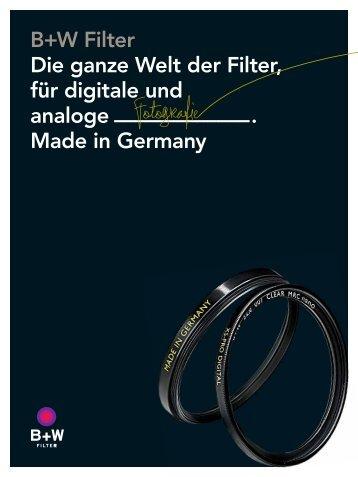 Die ganze Welt der Filter - Schneider Kreuznach by Jos. Schneider ...