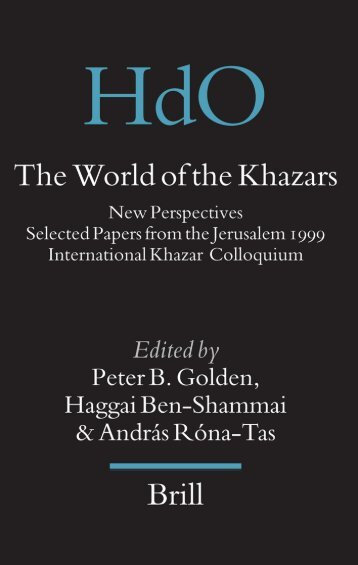 The World of the Khazars