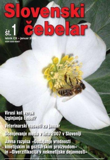 Virusi kot vzrok izginjanja čebel? - Čebelarska zveza Slovenije