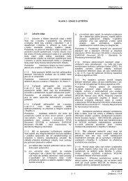 Hlava 2 - Letecká informační služba - Řízení letového provozu