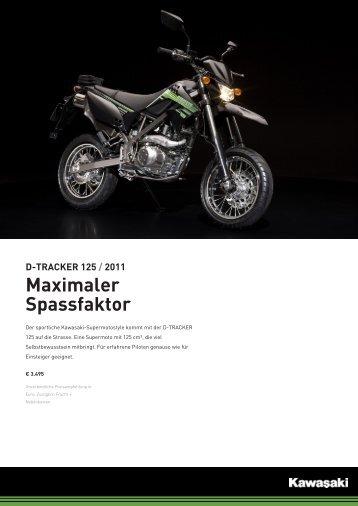 D-TRACKER 125 / 2011 Maximaler Spassfaktor