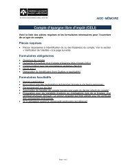AIDE-MÉMOIRE - Courtage à escompte Banque Laurentienne - VMBL