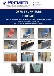 office furniture for sale - Premier Auctions And Asset Management ...