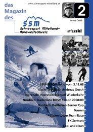 das Magazin des - Regionalverband Schneesport Mittelland