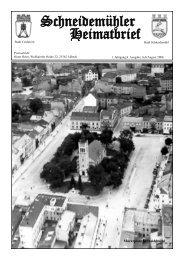 Schneidemühler Heimatbrief 4. Ausgabe - Schneidemuehl.net