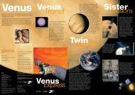 Venus - Schoolscience.co.uk
