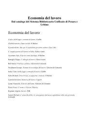 Economia tranne italia - Biblioteca Archivio Vittorio Bobbato