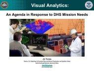 National Visualization and Analytics Center (NVAC)
