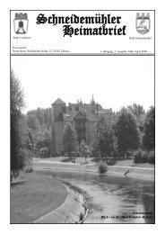 Schneidemühler Heimatbrief 2.  Ausgabe - Schneidemuehl.net
