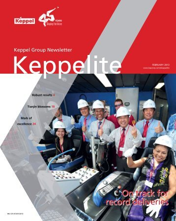 keppelite february 2013 issue - tj giavridis marine services co. ltd.